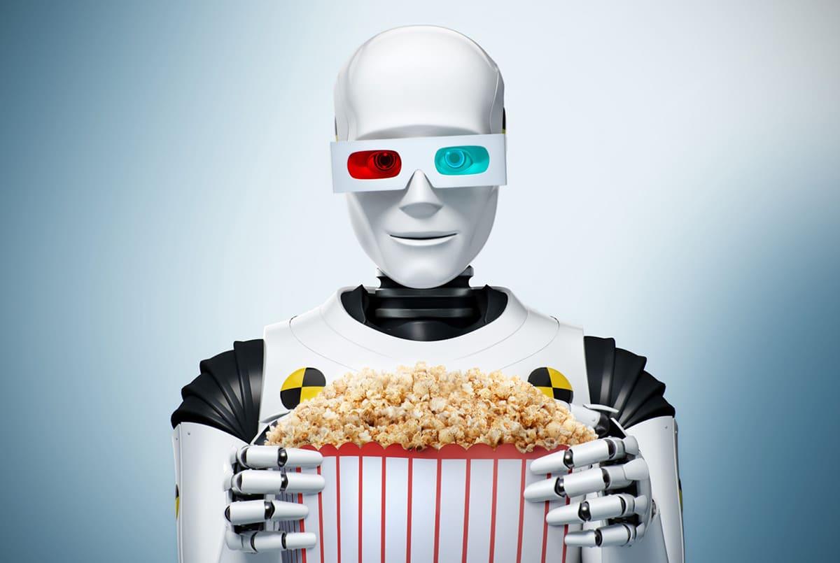 Рекламная кампания для кино - 3D модель