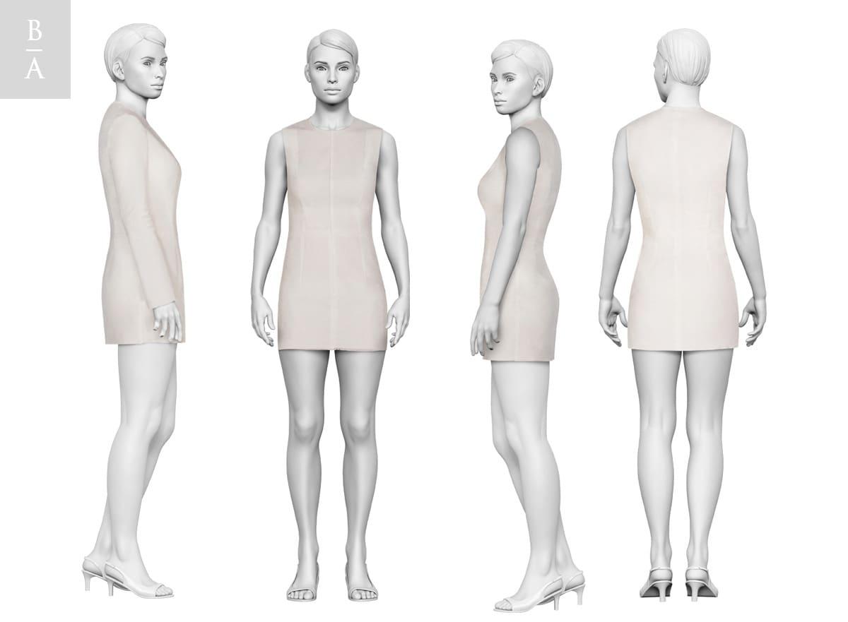 Клиент @ Зорана Козомара. 3D кукла / манекен