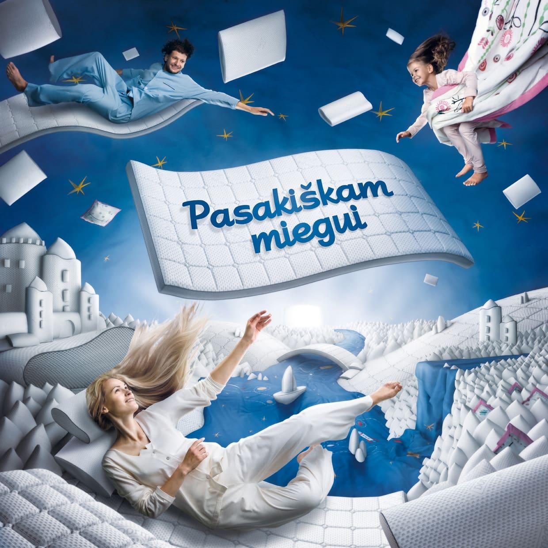 """Maxima"""" and """"Dormeo""""рекламная кампания матраса. Dormeo 3D-модель"""