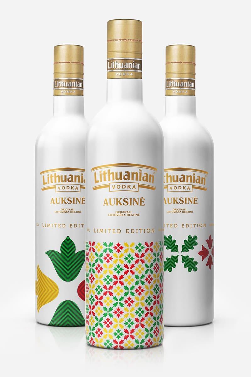 Литовская водка 3D